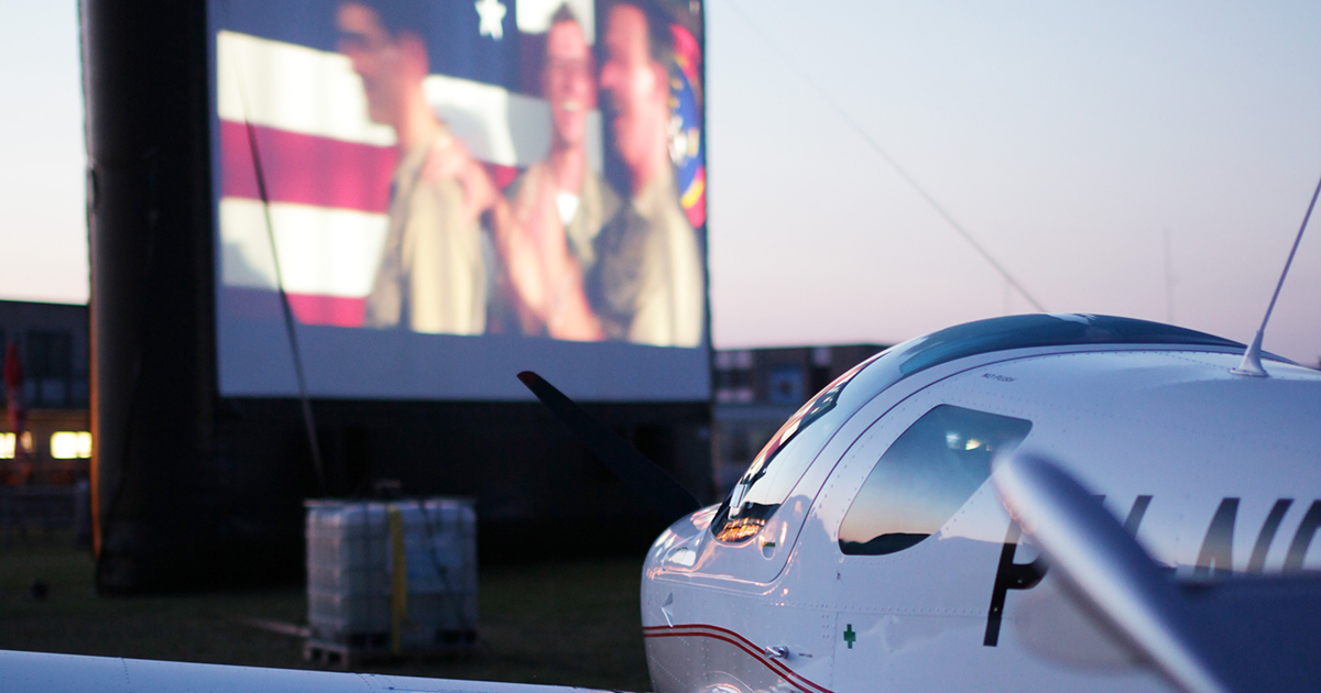 Cinema Fly-In